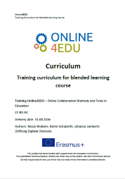 Titelbild Online4EDU: Blended Learning Curriculum