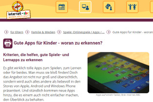 Internet-ABC, Kinder-Apps