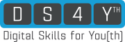 Logo: DS4Y - Digital Skills for Youth