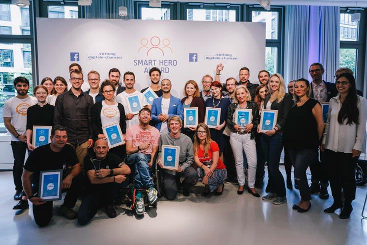 Die Nominierten des Smart Hero Awards 2017