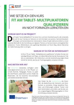 Titelbild A4 Flyer - Handout Seniors@DigiWorld - Deutsch