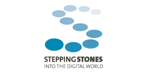 Logo Stepping Stones into the digital world